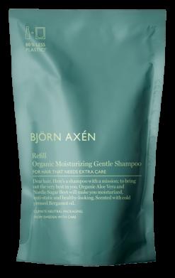 Orgaanilise šampooni täitepakend