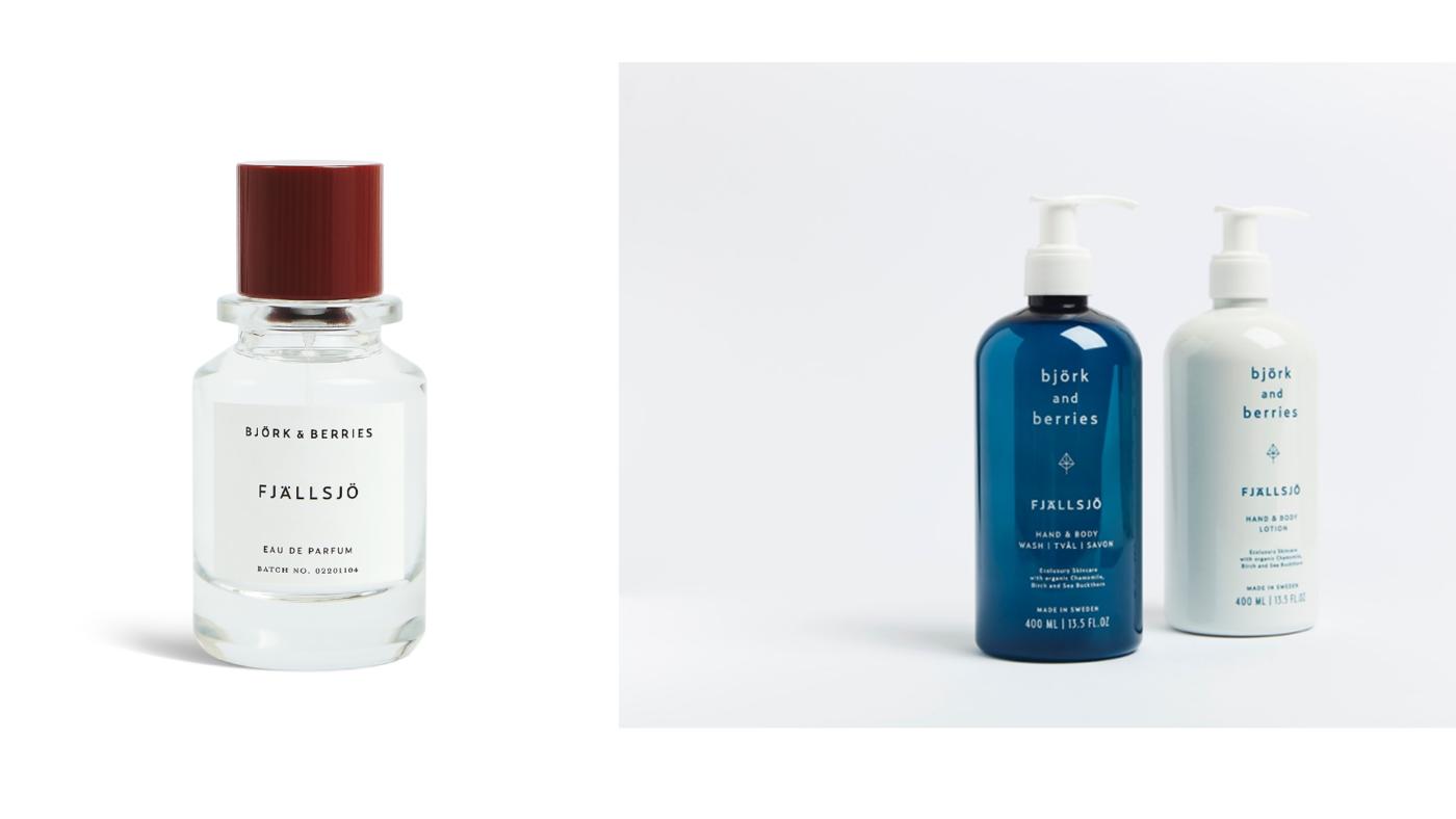 Fjällsjö parfüüm ja kätepesuseep